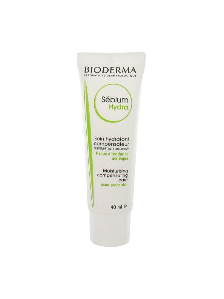 Bioderma Себиум Гидра крем для лица, 40 мл гели bioderma гель гуммирующий глубокоочищающий себиум 100мл
