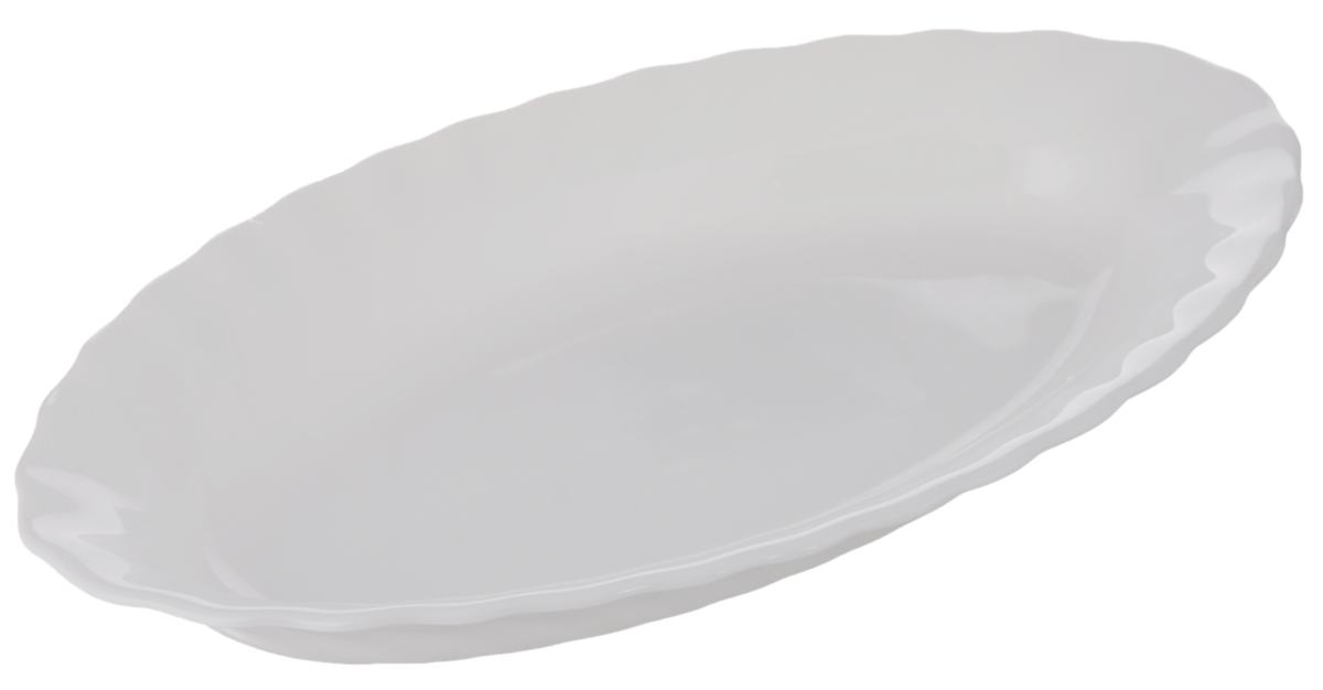 Селедочница Luminarc Trianon, 22 х 12,5 смH4126Селедочница Luminarc Trianon изготовлена из высококачественного стекла. Изделие идеально подходит для сервировки сельди в нарезке, а также разных видов закусок. Такая оригинальная селедочница станет изысканным украшением вашего праздничного стола.Размер (по верхнему краю): 22 х 12,5 см.
