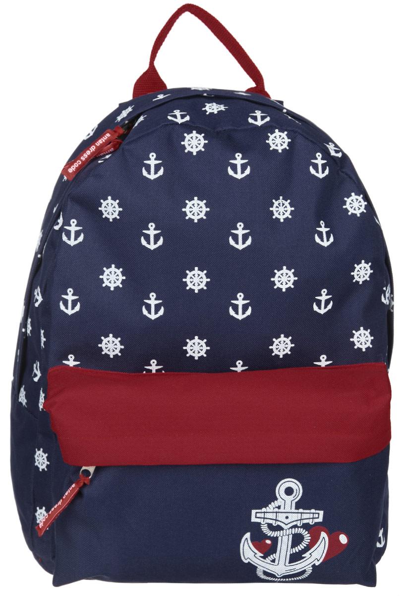 Рюкзак Antan, цвет: синий, красный, белый. 6-7