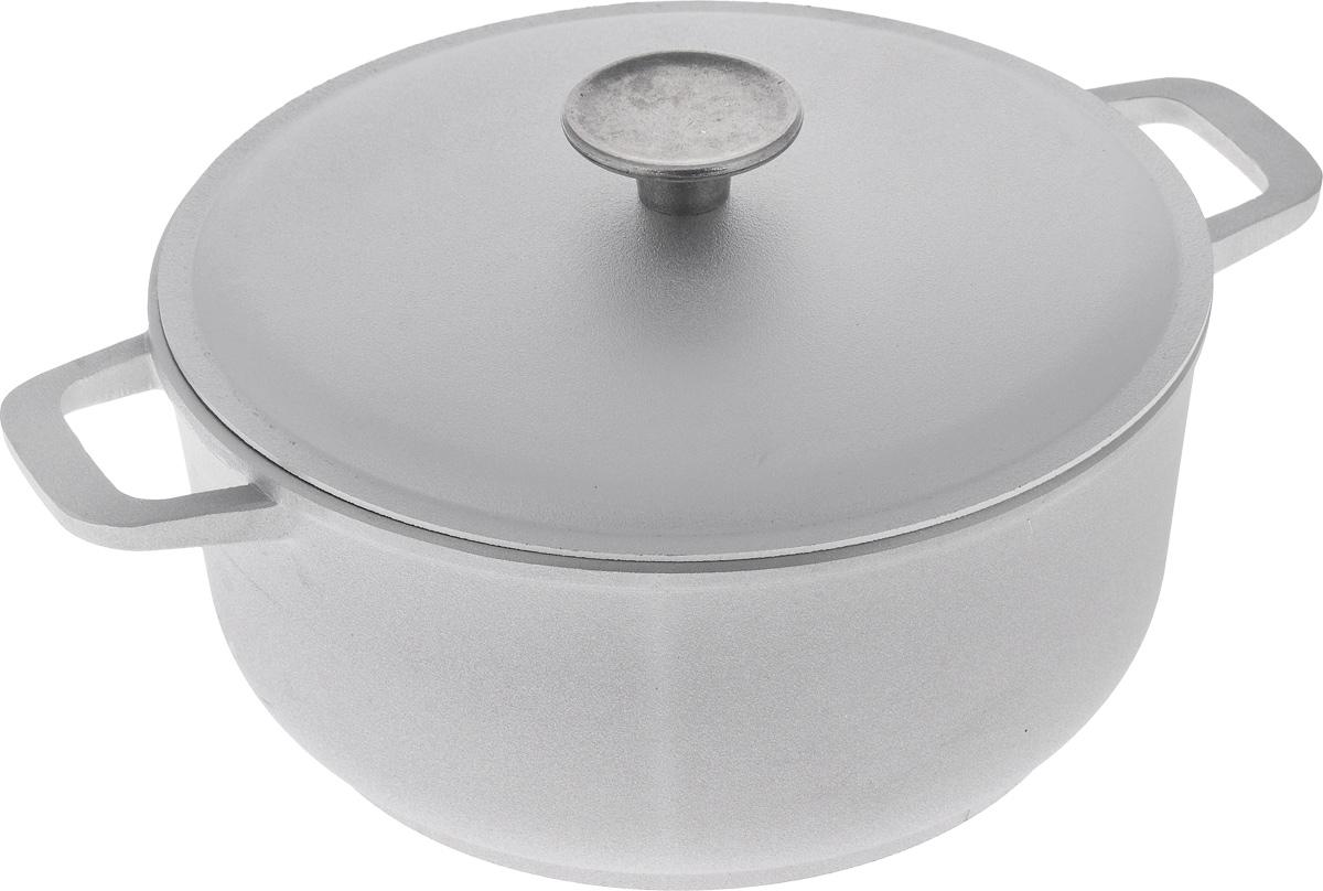 Кастрюля Биол с крышкой, 3 л. К301К301Кастрюля Биол изготовлена из литого алюминия с утолщенным дном. Посуда равномерно и быстро нагревается, позволяя существенно сократить время приготовления пищи. Изделие оснащено плотно прилегающей крышкой, позволяющей сохранить аромат готовящегося блюда.Кастрюля снабжена эргономичными ручками. Нельзя оставлять приготовленную пищу в посуде для хранения. Подходит для газовых, электрических и стеклокерамических типов плит, кроме индукционных. Рекомендовано мыть вручную.Высота стенки: 10,5 см.Ширина кастрюли (с учетом ручек): 30,5 см.Диаметр кастрюли (по верхнему краю): 23 см.Толщина стенки: 4 мм. Толщина дна: 5 мм.