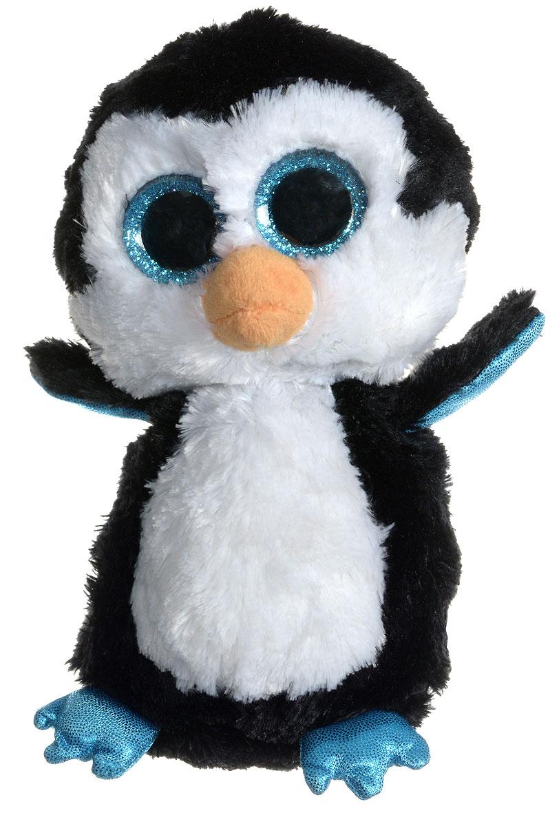 TY Мягкая игрушка Пингвин Waddles 15 см ty frizzy домовёнок tang 15 см 37138