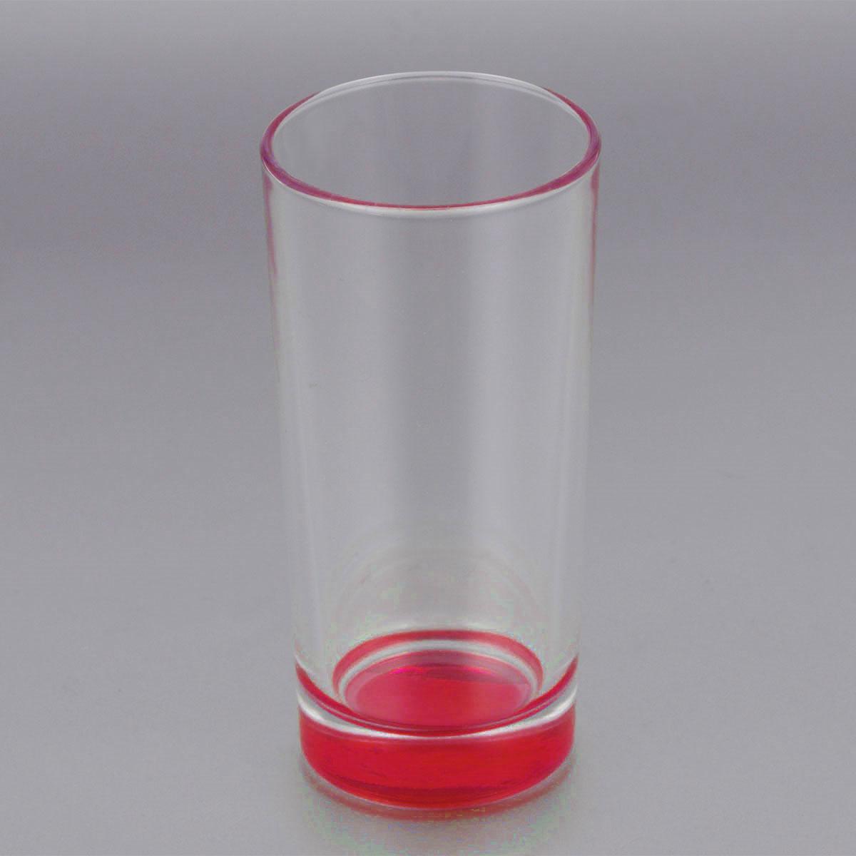 Стакан ОСЗ Лак, цвет: красный, 280 мл03С1018 ЛМ_красныйВысокий стакан ОСЗ Лак изготовлен из высококачественного стекла, которое изысканно блестит и переливается на свету. Дно стакана окрашено. Стакан прозрачный, но при его наклоне создается оптическая иллюзия того, что и сам стакан окрашен. Такой стакан отлично дополнит вашу коллекцию кухонной утвари и порадует вас ярким необычным дизайном и практичностью. Диаметр стакана: 7 см. Высота стакана: 14 см.