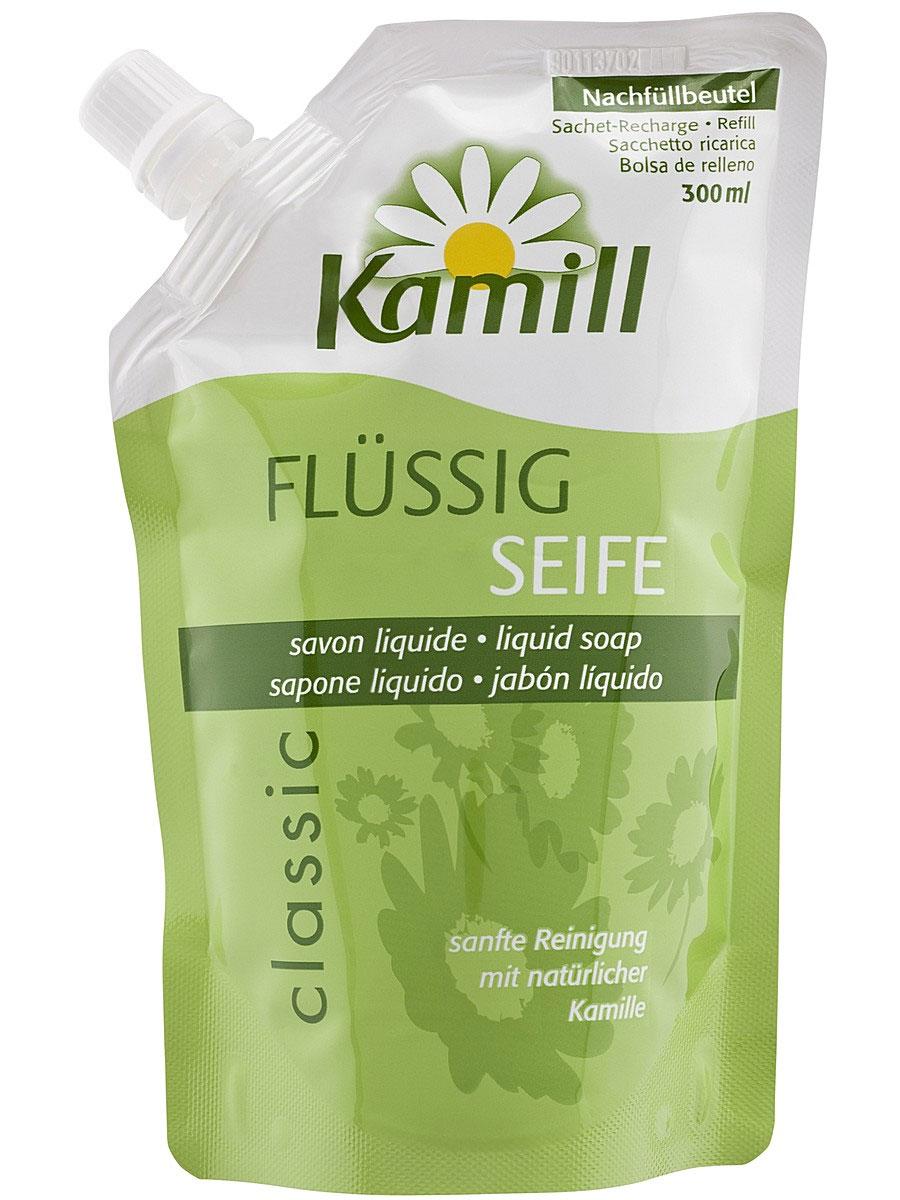 Мыло жидкое для рук Kamill Classic, запасной блок, 300 мл26950640Мыло жидкое для рук Kamill Classic с регулирующей баланс кожи формулой. Благодаря концентрированной силе ромашки снимает раздражение и нежно ухаживает за кожей. Ромашка обеспечивает дополнительную защиту и способствует регенерации клеток уставшей кожи рук. Мягкое мыло для рук очищает и предлагает натуральный уход. Характеристики: Объем: 300 мл. Производитель: Германия. Артикул: 013613.Kamill - линия косметических средств на основе экстракта ромашки, которая производится немецкой компанией Burnus GmbH. Она включает в себя большой выбор кремов и лосьонов для рук и ногтей, средства по уходу за лицом и телом, а также гели для душа и пены для ванны. Центральный компонент марки - ромашка - оказывает на кожу успокаивающее и противовоспалительное действие. В течение столетий кремы для рук, мази и настои, изготовленные из цветков ромашки, помогали снимать раздражение и смягчать кожу. Чудесное растение брало свою силу у всех четырех стихий: земли, воды, воздуха и солнца. Теперь ромашка, заботливо выращиваемая в тщательно контролируемых, экологически безупречных условиях, дарит вам свои целебные свойства в кремах и лосьонах для рук Kamill. Линия средств Kamill по уходу за лицом и телом - качественная косметика для женщин, которая понравится даже самой требовательной коже.Товар сертифицирован.