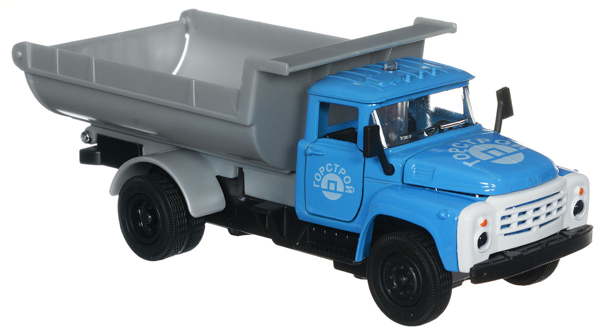 ТехноПарк Модель автомобиля ЗИЛ 130 Горстрой цвет голубой игрушка технопарк зил 130 бензовоз x600 h09131 r