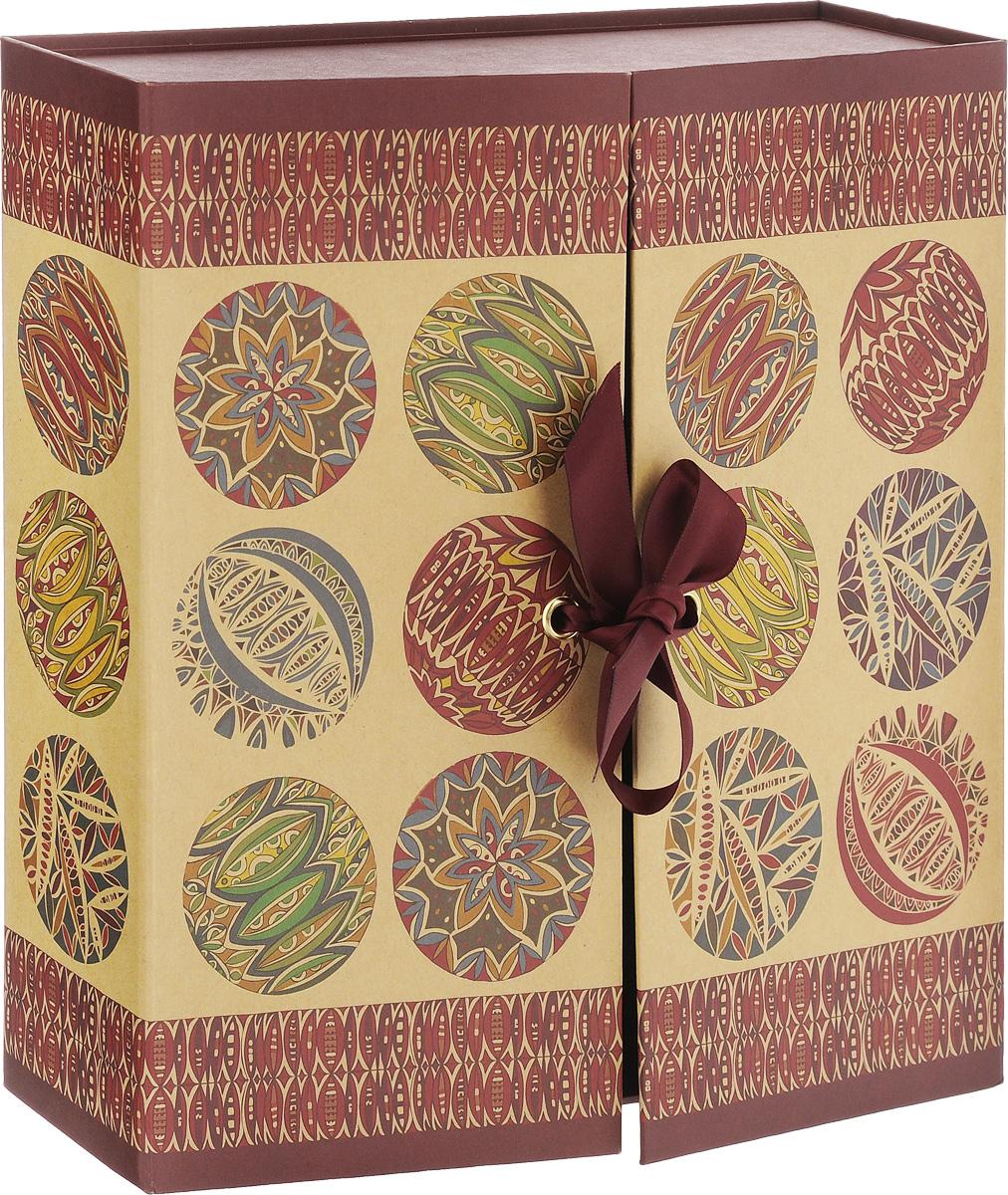 Крафт-коробка подарочная Миллефиори, 24 х 6 х 24 см4610009210438Подарочный коробка Миллефиори выполнена из крафт-бумаги - очень актуального материала на сегодняшний день. Основание изделия укреплено плотным картоном, который позволяет сохранить форму коробки и исключает возможность деформации под тяжестью подарка. Подарок, преподнесенный в оригинальной упаковке, всегда будет самым эффектным и запоминающимся. Окружите близких людей вниманием и заботой, вручив презент в нарядном, праздничном оформлении.