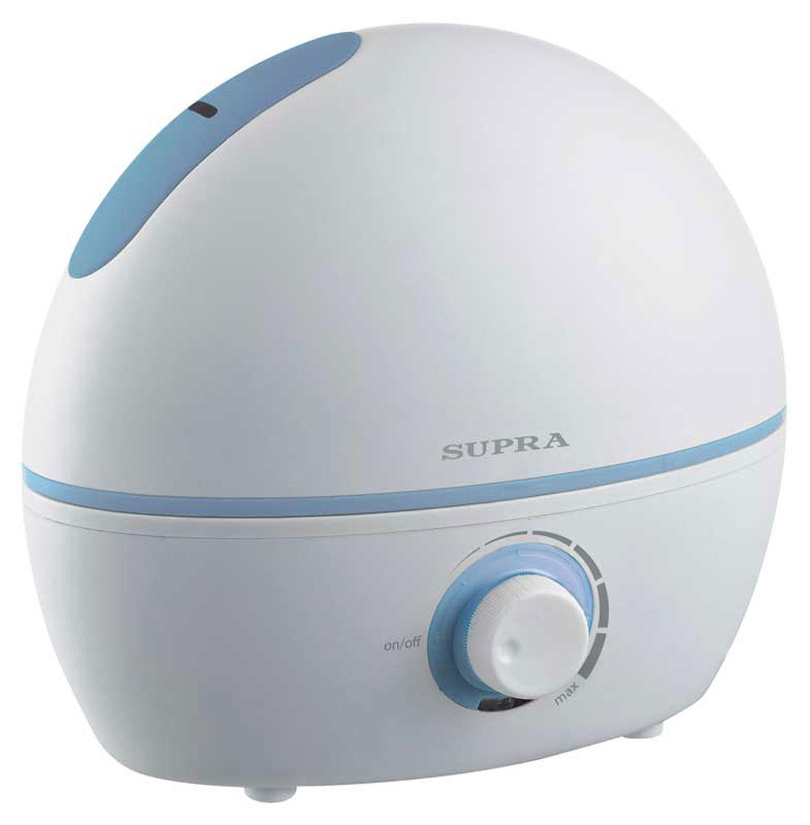 Supra HDS-102, White увлажнитель воздуха увлажнитель воздуха ультразвуковой 20 вт 4 л supra hds 114 blue