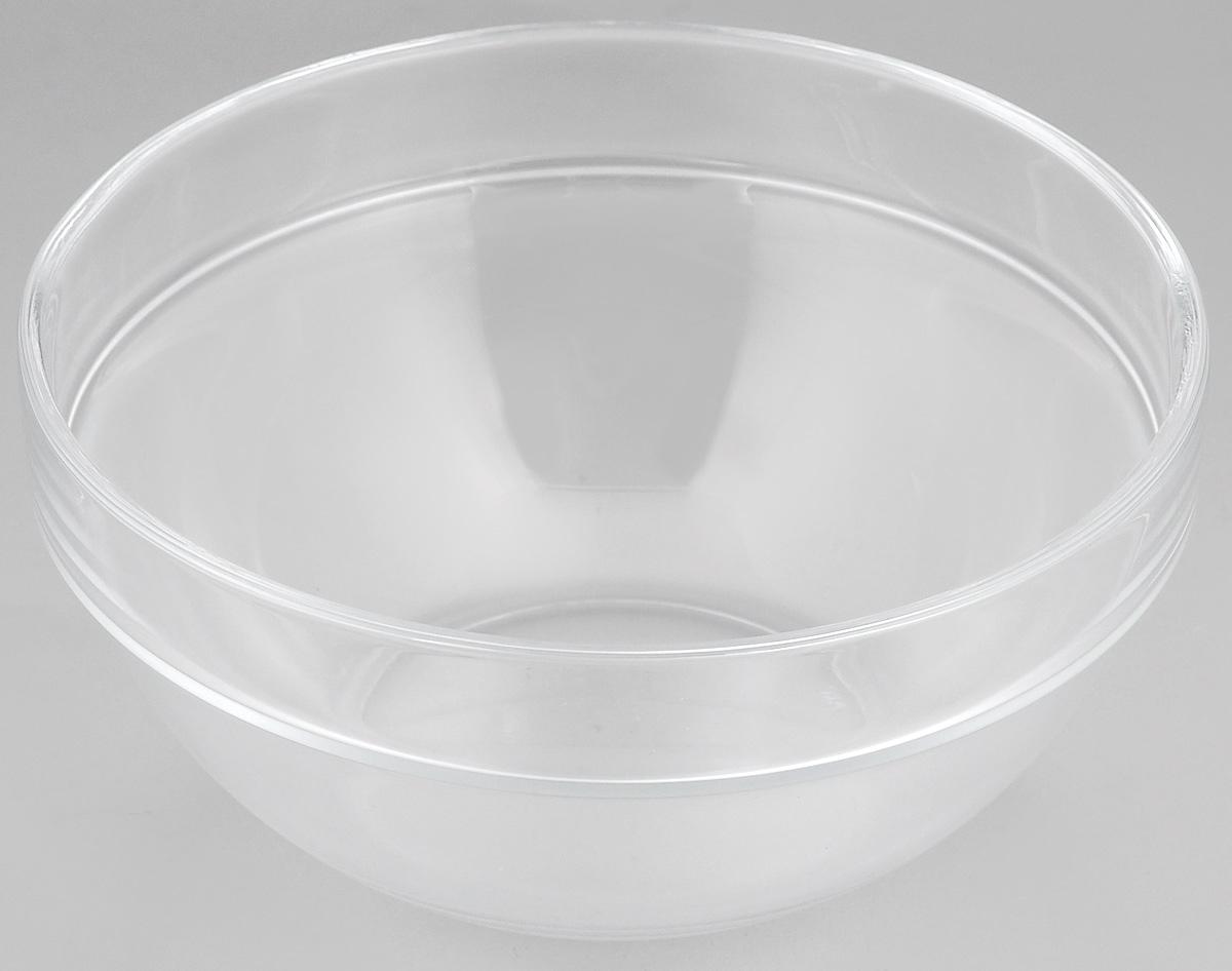 """Миска Luminarc """"Empilable"""" выполнена из  высококачественного стекла. Изделие сочетает в себе  лаконичный дизайн с максимальной  функциональностью. Она прекрасно впишется в  интерьер вашей кухни и станет достойным дополнением  к кухонному инвентарю.  Миска Luminarc """"Empilable"""" подчеркнет прекрасный вкус хозяйки и  станет отличным подарком.  Диаметр миски (по верхнему краю): 17 см.  Высота стенки: 8 см."""