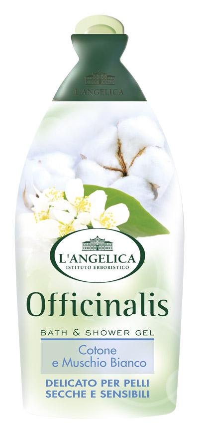 L'angelica (0645) Гель для душа и ванны Белый мускус и Хлопок, 500 мл гель для душа и ванны с ароматом зеленого кофе 500 мл l angelica