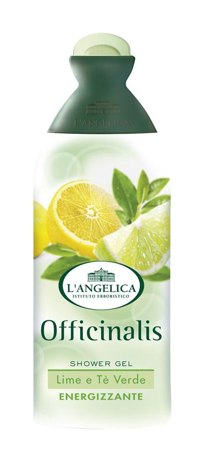 L'angelica (0812) Гель для душа Лайм и Зеленый чай, 250 мл fa гель для душа oriental moments 250 мл