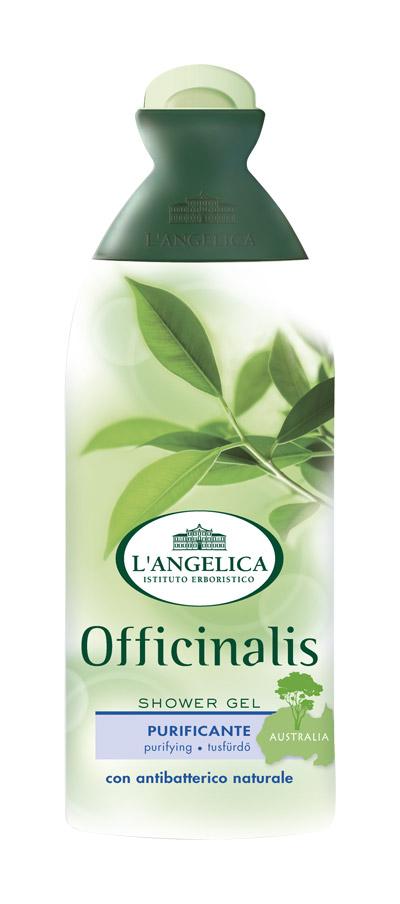 L'angelica (0836) Гель для душа с маслом чайного дерева, 250 мл