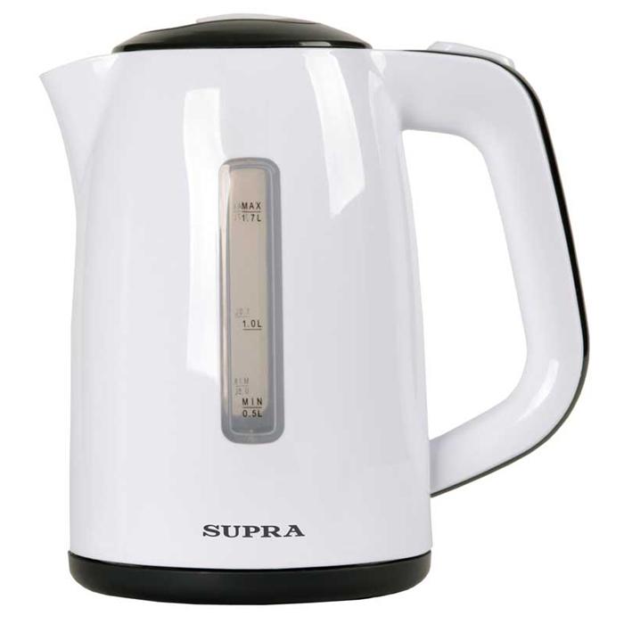 Supra KES-1728, White Grey чайник электрический supra kes 1001 электрочайник