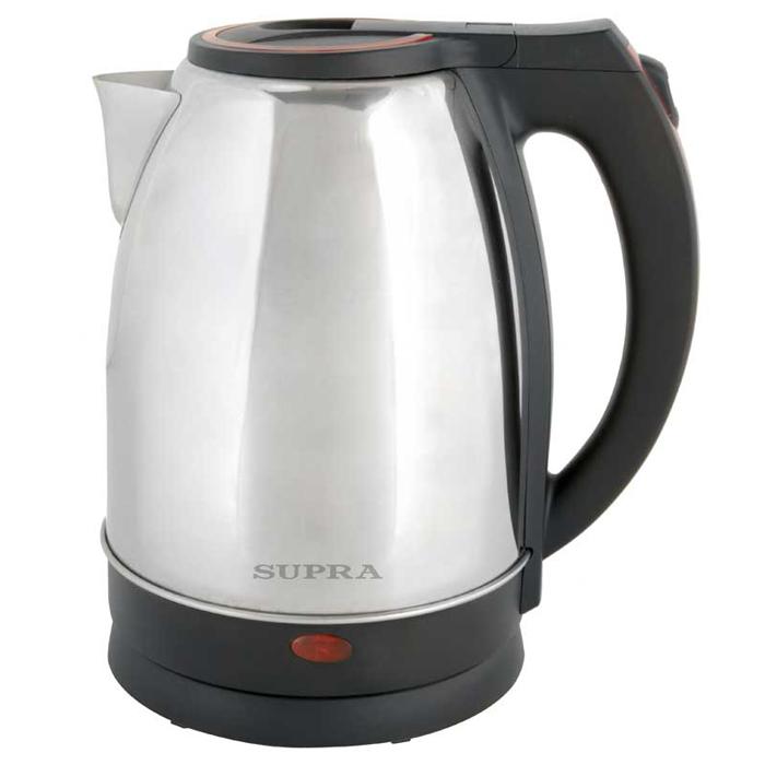 Supra KES-2231, Steel Red чайник электрический supra kes 1001 электрочайник