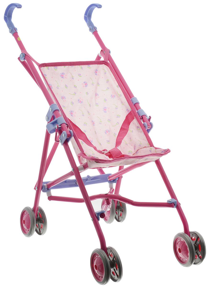 Simba Коляска для кукол New Born Baby розовый simba микрофон на стойке