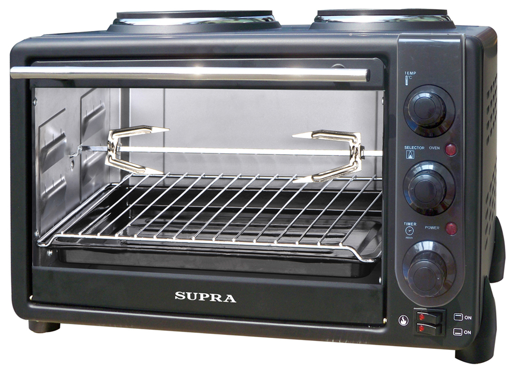 Supra MTS-342, Black электропечь - Мини-печи