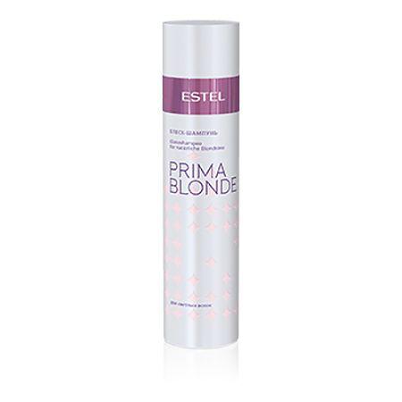 Estel Prima Blonde - Блеск-шампунь для светлых волос 250 млPB.3Тип волос: Светлые натуральные и окрашенные Блеск-шампунь мягко очищает волосы и подчеркивает красоту светлых оттенков. Волосы натуральные или окрашенные? Блеск-шампунь сглаживает различия: волосы оттенка блонд, независимо от того, были они окрашены или нет, наполняются здоровым солнечным сиянием! Система Nаturаl Peаrl с пантенолом и кератином заботится о волосах, способствуя восстановлению их структуры и наделяя мягкостью.Результат: Кератин – придает волосам здоровый и ухоженный вид, насыщает блеском Пантенол – восстанавливает и увлажняет волосы.
