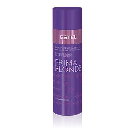Estel Prima Blonde - Серебристый бальзам для холодных оттенков блонд 200 млPB.2Тип волос: Осветленные Проблемы волос: Желтый оттенок Серебристый бальзам, деликатно ухаживая за волосами, придает им желанный холодный оттенок. Бальзам поможет навсегда забыть о желтом нюансе, подчеркнет холодное сияние любимого цвета, а также сделает волосы мягкими и послушными. Благодаря Серебристому бальзаму волосы струятся и завораживают своим сиянием!Результат: Фиолетовые пигменты – нейтрализуют желтый нюанс, Пантолактон – увлажняет волосы, Ниацинамид – придает волосам здоровый вид.