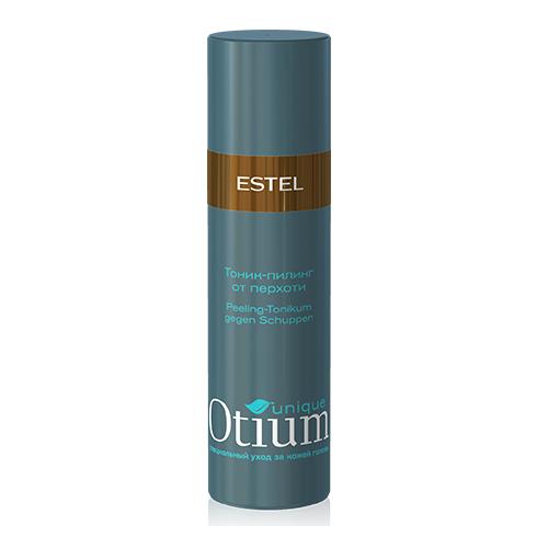 Estel Otium Unique Тоник-пилинг от перхоти 100 млOTM.19Estel Otium Unique Тоник - пилинг от перхоти с комплексом Unique No dаndruff и маслом розмарина интенсивно очищает голову от перхоти, предотвращает её рецидивы, успокаивает раздражённую кожу головы. Бережно восстанавливает природный баланс кожи головы.Идеален в сочетании с Пилинг - шампунем Otium Unique от перхоти.