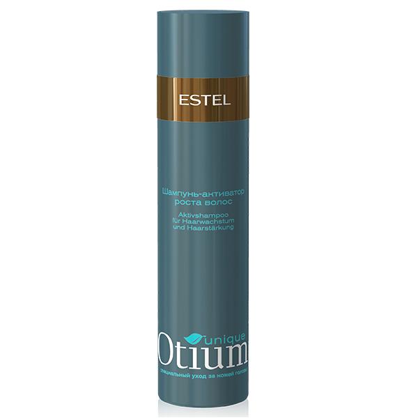 Estel Otium Unique Шампунь-активатор стимулирующий рост волос 250 млOTM.14Estel Otium Unique Шампунь - активатор стимулирующий рост волос. Специальный шампунь с комплексом Unique Active, протеинами молока и лактозой обеспечивает активную терапию кожи головы, воздействует на волосяную луковицу, ускоряя процесс роста волос и увеличивая их плотность. Защищает волосы от выпадения, восстанавливает гидробаланс. Идеален в сочетании с Active - процедурой Otium Unique для роста и укрепления волос. Уважаемые клиенты!Обращаем ваше внимание на возможные изменения в дизайне упаковки. Качественные характеристики товара остаются неизменными. Поставка осуществляется в зависимости от наличия на складе.