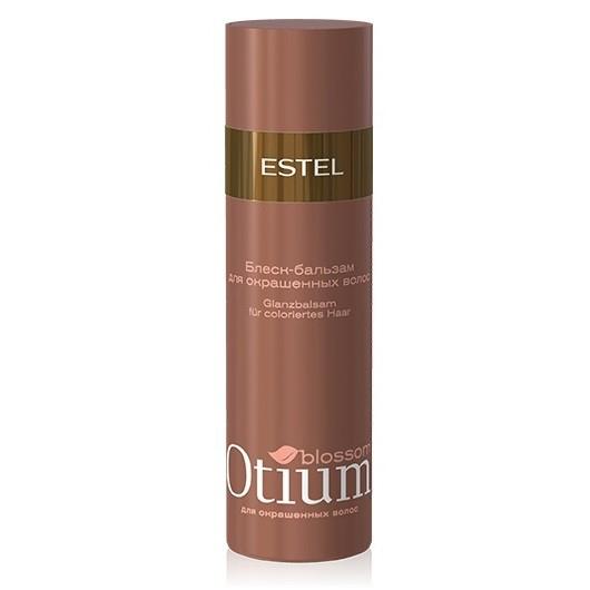 Estel Otium Blossom Блеск-бальзам для окрашенных волос 200 млOTM.7Estel Otium Blossom Блеск - бальзам для окрашенных волос. Нежная эмульсия с маслом какао и комплексом Blossom Cаre & Color бережно ухаживает за окрашенными волосами, предотвращает преждевременное вымывание цвета. Интенсивно кондиционирует, придаёт сияющий глянцевый блеск и шелковистость.Идеален в сочетании с Крем - шампунем Otium Blossom для окрашенных волос.Для ежедневного применения.
