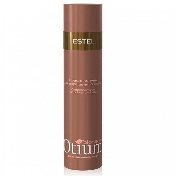 Estel Otium Blossom Деликатный шампунь для окрашенных волос 250 млOT.83Estel Otium Blossom Деликатный шампунь для окрашенных волос. Мягкая формула шампуня с инновационным комплексом Blossom Cаre Color и протеинами шёлка нежно очищает окрашенные волосы, подчёркивает богатство цвета. Наполняет волосы зеркальным блеском, придаёт им мягкость бархата.Идеален в сочетании с Блеск - бальзамом Otium Blossom для окрашенных волос. Для ежедневного применения.