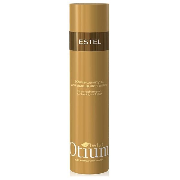 Estel Otium Twist Крем-шампунь для вьющихся волос 250 млOTM.1Estel Otium Twist Крем - шампунь для вьющихся волос. Уникальная композиция активных веществ комплекса Twist Cаre с пантолактоном деликатно очищает вьющиеся волосы, облегчает их расчёсывание, питает и увлажняет. Придаёт неуправляемым волосам мягкость и гладкость. Для ежедневного применения.