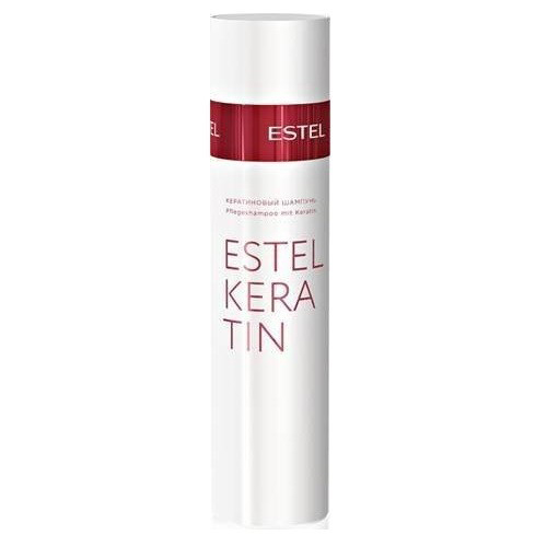 Estel Thermokeratin - Кератиновый шампунь для волос 250 млEK/S2Тип волос: ВсеПервый, подготовительный этап процедуры кератинизации волос TERMOKERATIN. Профессиональный шампунь для восстановления и кератинизации волос. Деликатно очищает волосы и кожу головы.Содержит гидролизованный кератин. Результат: Восстанавливает качество волос, обеспечивает волосам эластичность и мягкость.