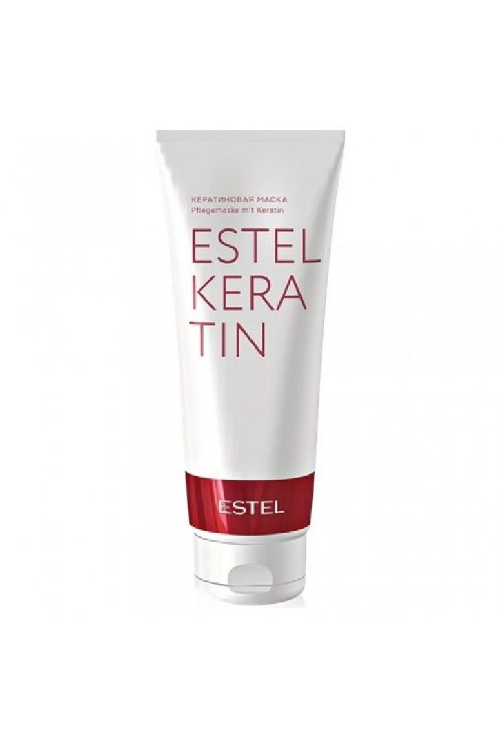 Estel Thermokeratin - Кератиновая маска для волос 250 млEK/M2Тип волос: Все Проблемы волос: Ослабленные волосы Реставрирует и питает волос изнутри. Сохраняя баланс влаги в структуре волос, возвращает волосам мягкость, упругость и эластичность. В результате регулярного применения волосы насыщаются кератином, становятся более плотными и наполняются блеском. Для усиления эффекта насыщения волос кератином и аминокислотами используйте кератиновую воду ESTEL KERATIN до и после применения маски.Результат: Комплекс с кератином, входящий в состав маски, глубоко проникает в волокно волос, обеспечивая интенсивную регенерацию изнутри.