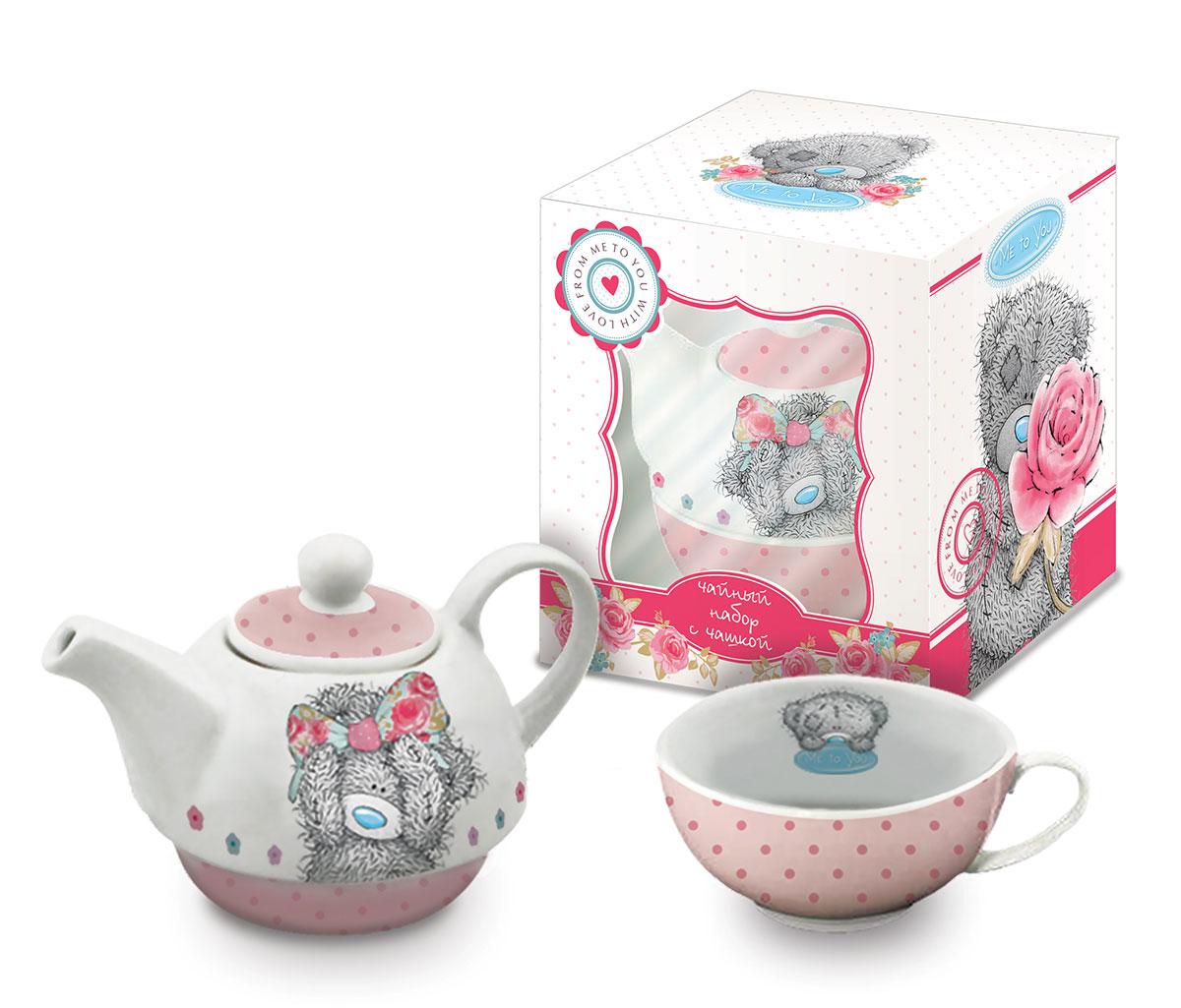 Teabreeze Me to You Подарочный чайный набор с чашкой и чайником, 100 г сувенир чайный набор серия me to you в асс g91q0153