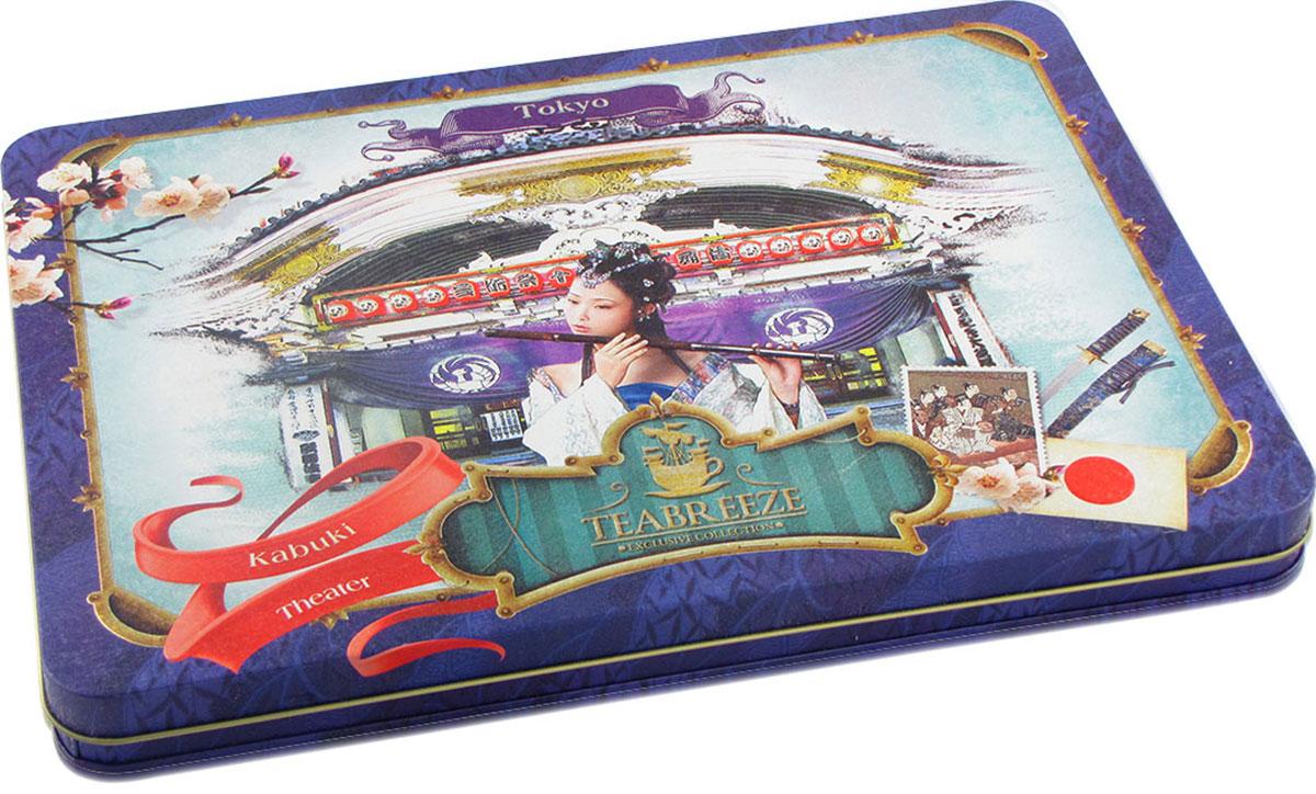Teabreeze Театр Кабуки чай ароматизированный в подарочной шкатулке, 300 г 2005 чай ассам хармутти оптом