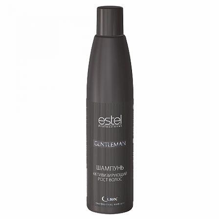 Estel Curex Gentleman Шампунь активизирующий рост волос, 300 млCUM300/S12Шампунь, активизирующий рост волос, Estel Curex Gentleman. Мягко очищает волосы и кожу головы. Витамин РР и биотин оказывают деликатное воздействиена луковицы ослабленных волос, интенсивно питая и укрепляя их. Экстракт люпина активизируетмикрокровообращение, стимулирует рост волос и уменьшает их выпадение. Придает волосамблеск, освежает кожу головы. Результат: мягкое очищение, стимуляция роста волос, тонизирующий эффект.