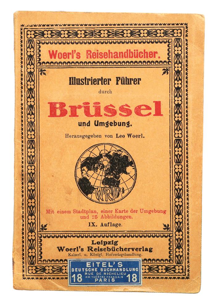 Брюссель. Иллюстрированный путеводитель иллюстрированный путеводитель по волге и ее притокам оке и каме