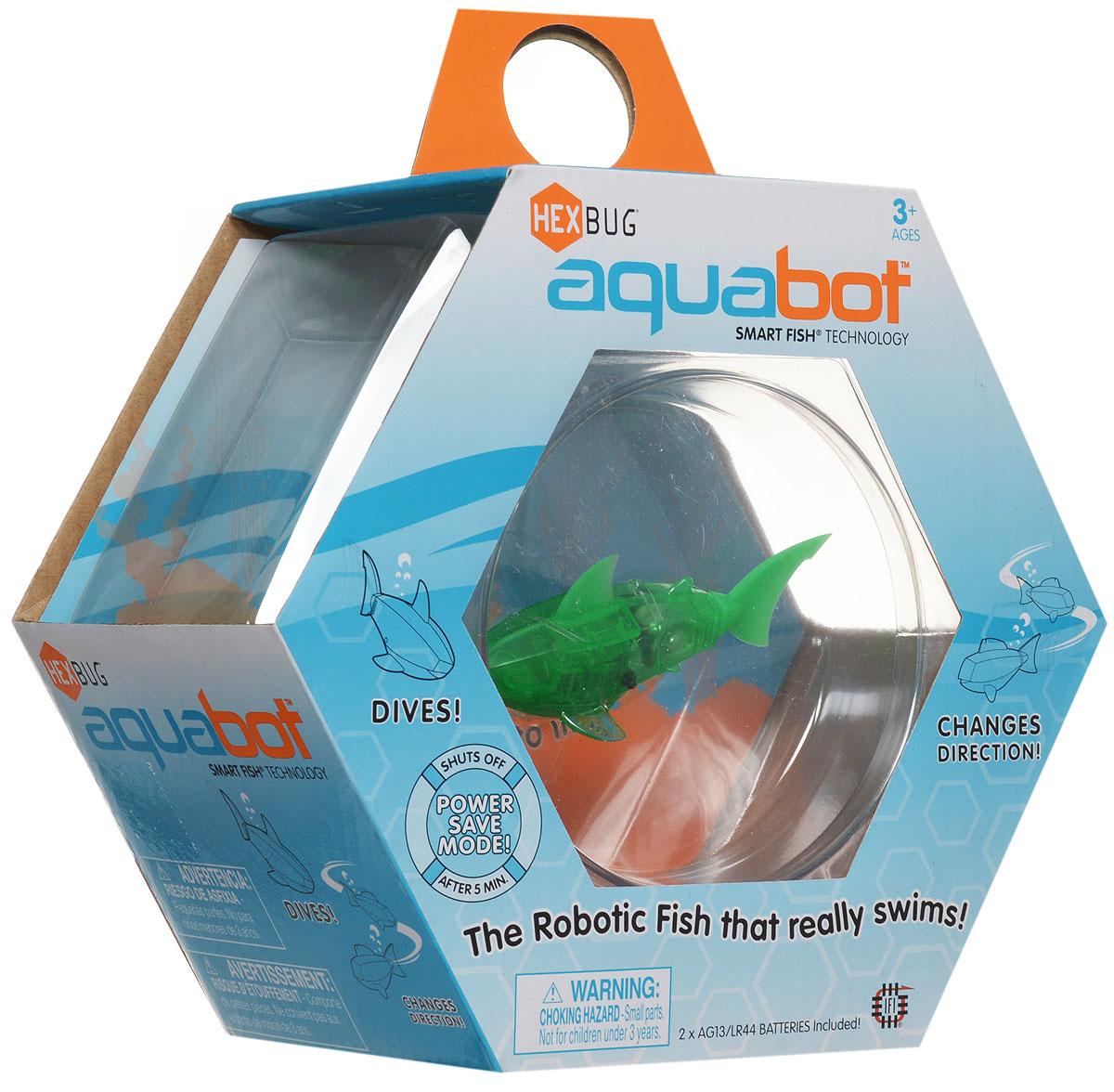 HexbugМикро-робот AquaBot с аквариумом цвет зеленый Hexbug