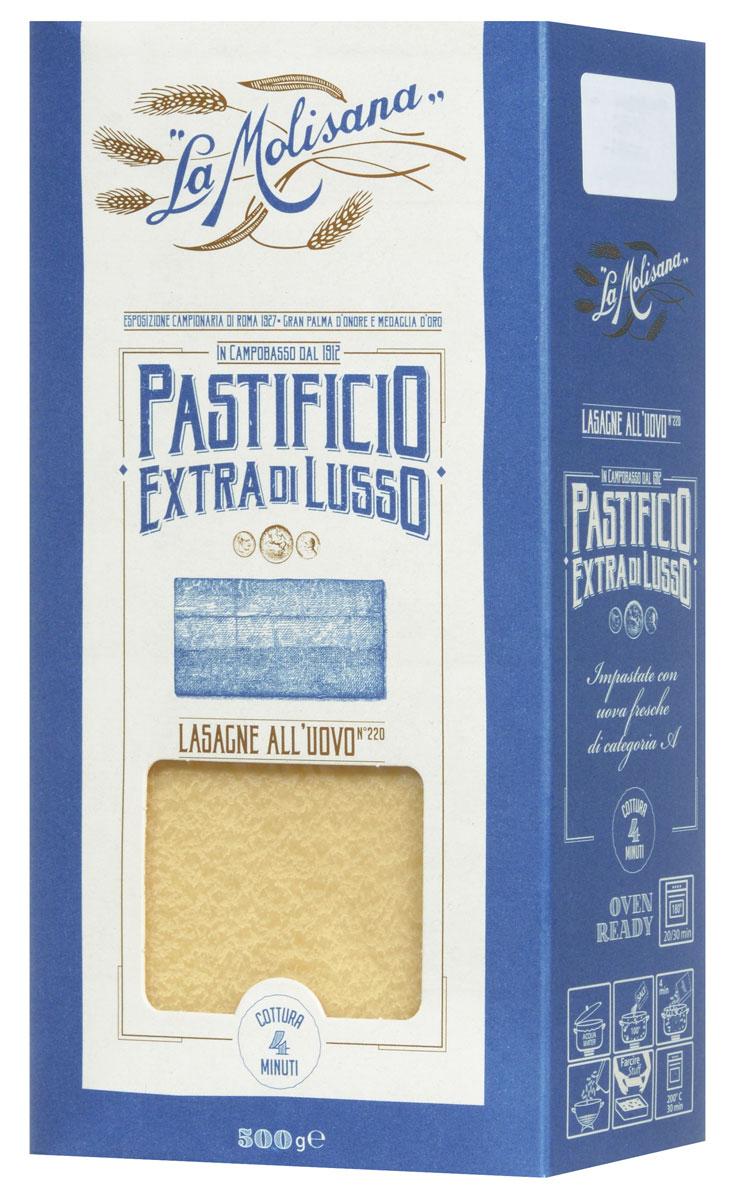 где купить La Molisana Lasagne Di Sfoglia Regina лазанья яичная макаронные изделия, 500 г по лучшей цене