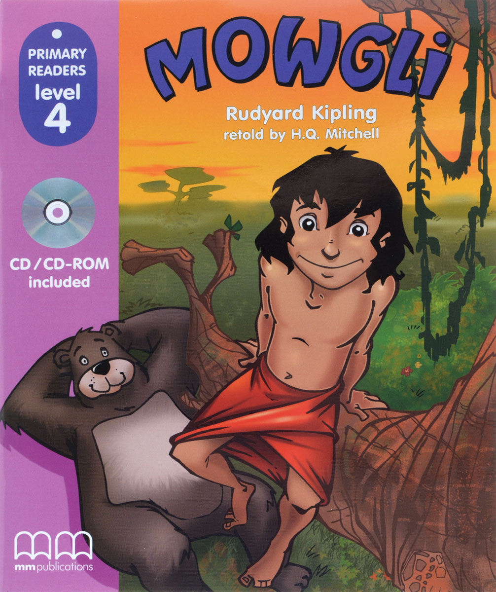 PRIMARY READERS - MOWGLI (WITH CD-ROM) little books black ant sb with cd rom