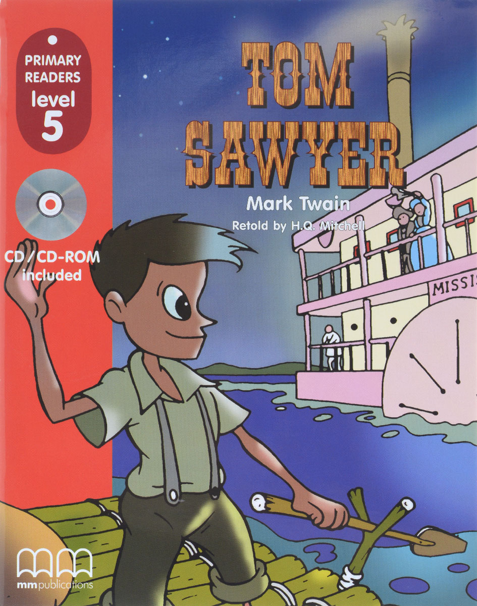 PRIMARY READERS - TOM SAWYER (WITH CD-ROM)