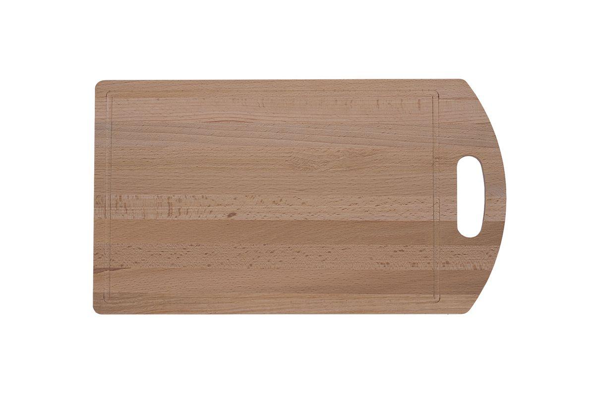 Доска разделочная Proffi, бук, 40 x 23 смPH6557Большая разделочная доска Proffi пригодится на каждой кухне. Она выполнена из бука.Доска экономична, устойчива к влажности, износу, экологична и безопасна.Размер: 40 х 23 см.