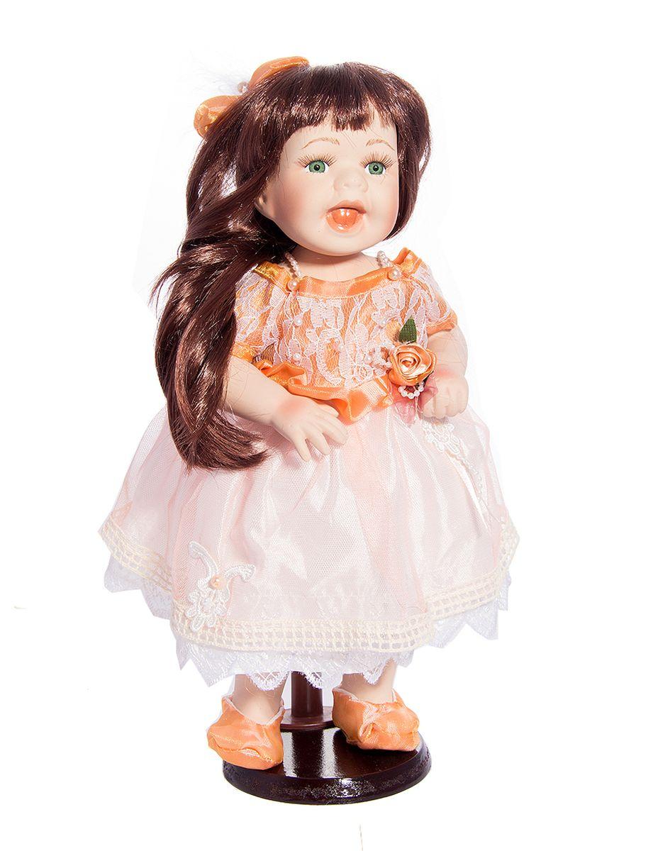 Кукла фарфоровая коллекционная Нина, 38 см. 15825