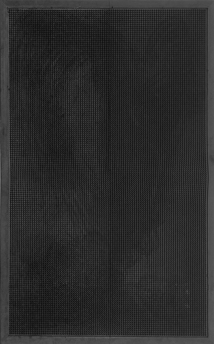 Коврик придверный SunStep Иголочки, резиновый, 120 х 80 см коврик домашний sunstep цвет синий 80 х 150 х 4 см