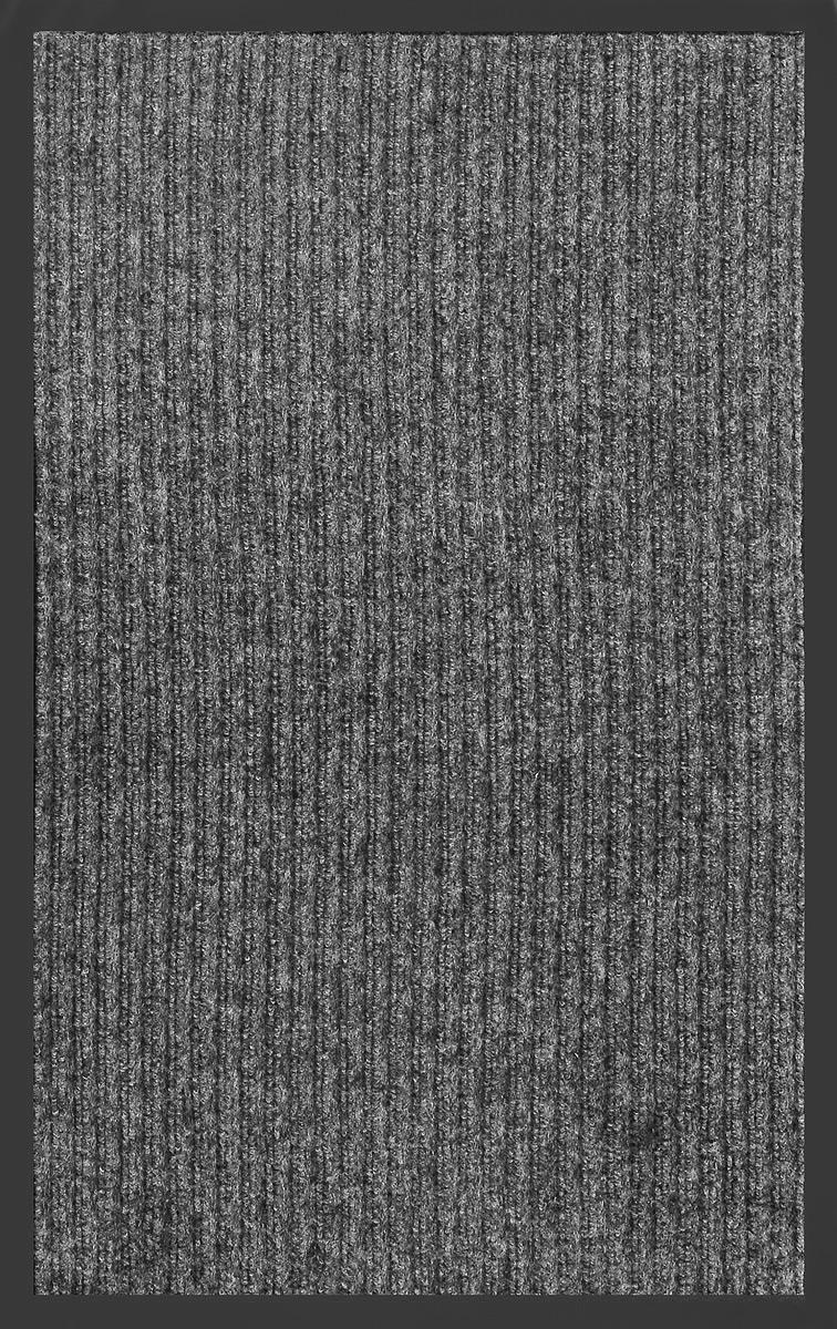 Коврик придверный SunStep Ребристый, влаговпитывающий, цвет: серый, черный, 90 х 60 см35-051Влаговпитывающий придверный коврик SunStep Ребристый выполнен из высококачественных полимерных материалов. Он прост в обслуживании, прочный и устойчивый к различным погодным условиям. Лицевая сторона коврика мягкая. Прорезиненная основа предотвращает его скольжение по гладкой поверхности и обеспечивает надежную фиксацию. Такой коврик надежно защитит помещение от уличной пыли и грязи.