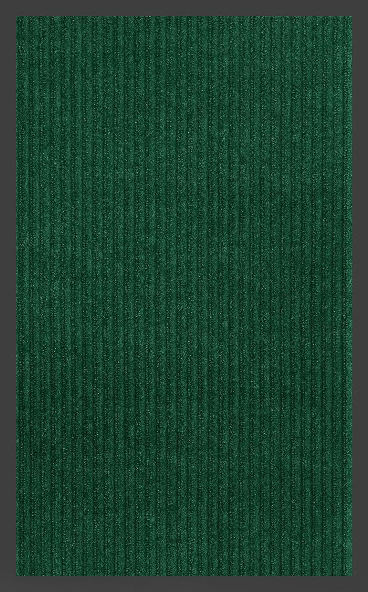 """Влаговпитывающий придверный коврик SunStep """"Ребристый"""" выполнен из  высококачественных полимерных материалов.  Он прост в обслуживании, прочный и устойчивый к различным погодным  условиям. Лицевая сторона коврика мягкая.  Прорезиненная основа предотвращает его скольжение по гладкой поверхности и  обеспечивает надежную фиксацию.  Такой коврик надежно защитит помещение от уличной пыли и грязи."""