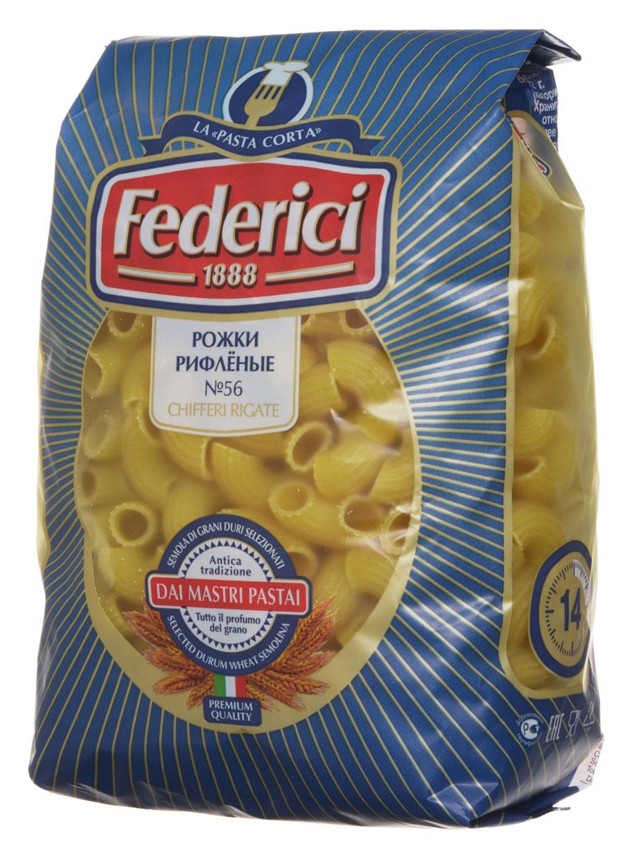 где купить Federici Chifferi Rigate рожки рифленые макаронные изделия, 500 г по лучшей цене