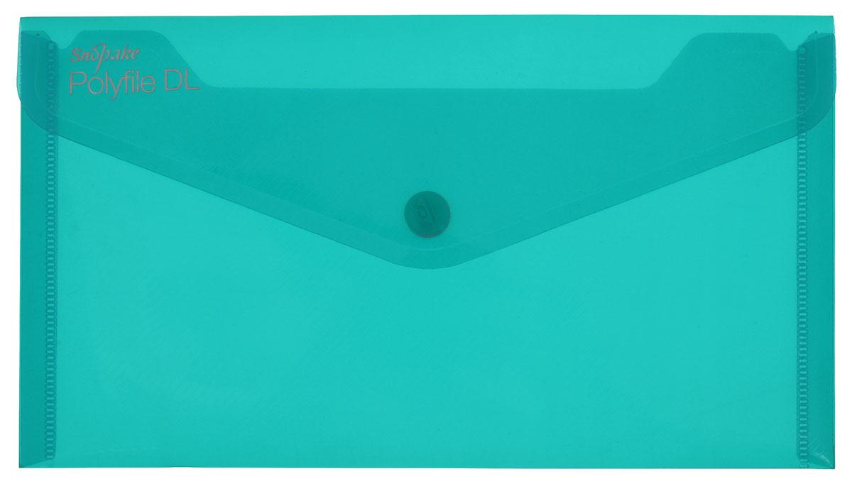 Snopake Папка-конверт на кнопке Polyfile DL Electra цвет зеленый формат А5K10035_зеленыйПапка-конверт на кнопке Snopake Polyfile DL Electra - это удобный и функциональный офисный инструмент, предназначенный для хранения и транспортировки рабочих бумаг и документов формата А5. Папка изготовлена из прозрачного пластика, закрывается клапаном на кнопке. Папка-конверт - это незаменимый атрибут для студента, школьника, офисного работника. Такая папка надежно сохранит ваши документы и сбережет их от повреждений, пыли и влаги.
