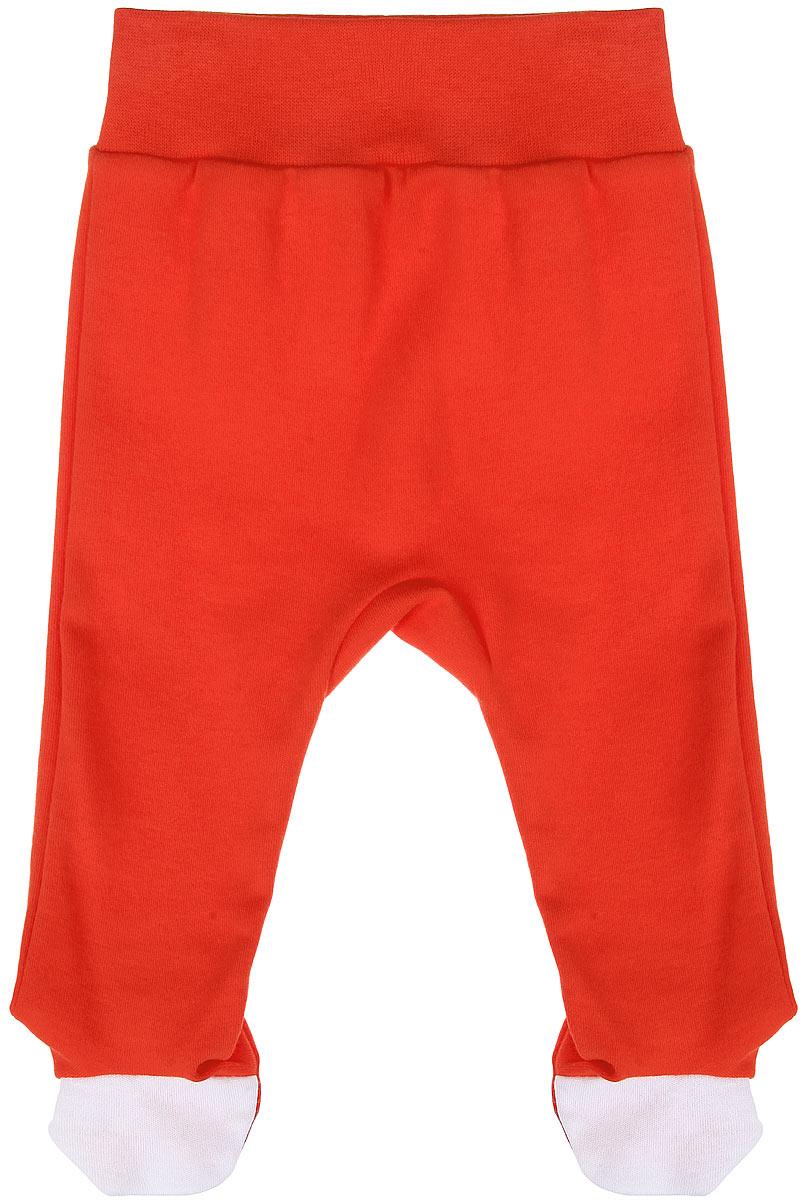Ползунки на широком поясе КотМарКот, цвет: морковный. 5288. Размер 62, 1-3 месяца фонарь красная цена 5288