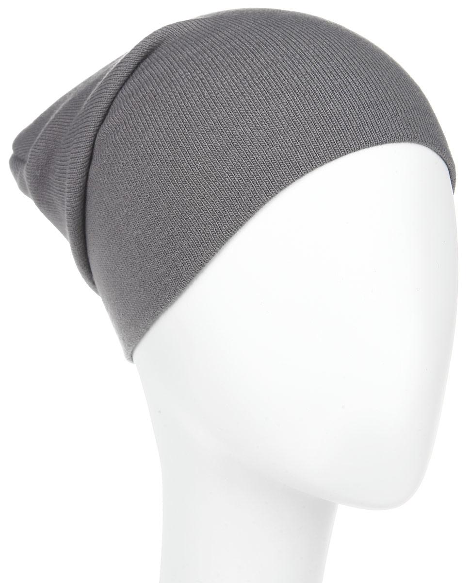 Шапка мужская Marhatter, цвет: темно-серый. Размер 57/59. MYH5287MYH5287Стильная мужская шапка Marhatter отлично дополнит ваш образ в холодную погоду. Сочетание акрила и эластана шапка максимально сохраняет тепло и обеспечивает удобную посадку, невероятную легкость и мягкость. Двухслойную шапку можно носить как с отворотом, так и без. Модная шапка Marhatter подчеркнет ваш неповторимый стиль и индивидуальность. Такая модель будет актуальна как на спортивных мероприятиях, так и в повседневной жизни. Уважаемые клиенты!Размер, доступный для заказа, является обхватом головы.