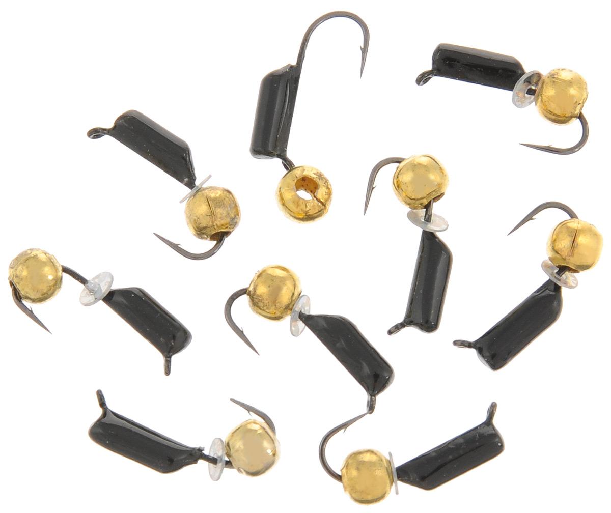 Мормышка вольфрамовая True Weight Гвоздешарик, гвоздик, цвет: золотой, диаметр 2 мм, 10 шт49645Безнасадочная мормышка True Weight Гвоздешарик изготовлена из вольфрама и оснащена крючком. Главное достоинство вольфрамовой мормышки - большой вес при малом объеме. Эта особенность дает большие преимущества при ловле, так как позволяет быстро погрузить приманку на требуемую глубину и лучше чувствовать игру мормышки.Диаметр мормышки: 2 мм.Какая приманка для спиннинга лучше. Статья OZON Гид
