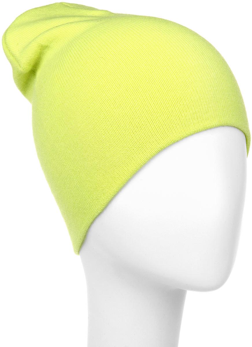 Шапка мужская Marhatter, цвет: еоновый желтый. Размер 57/59. MYH5287MYH5287Стильная мужская шапка Marhatter отлично дополнит ваш образ в холодную погоду. Сочетание акрила и эластана шапка максимально сохраняет тепло и обеспечивает удобную посадку, невероятную легкость и мягкость. Двухслойную шапку можно носить как с отворотом, так и без. Модная шапка Marhatter подчеркнет ваш неповторимый стиль и индивидуальность. Такая модель будет актуальна как на спортивных мероприятиях, так и в повседневной жизни. Уважаемые клиенты!Размер, доступный для заказа, является обхватом головы.