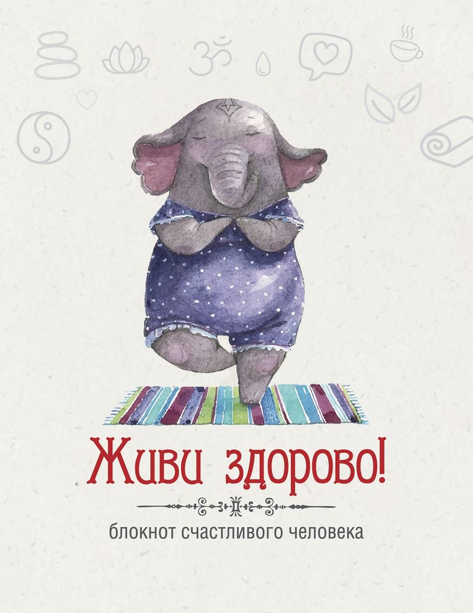 Н. А. Андрианова Живи здорово! Блокнот счастливого человека блокноты эксмо живи здорово блокнот счастливого человека слоник