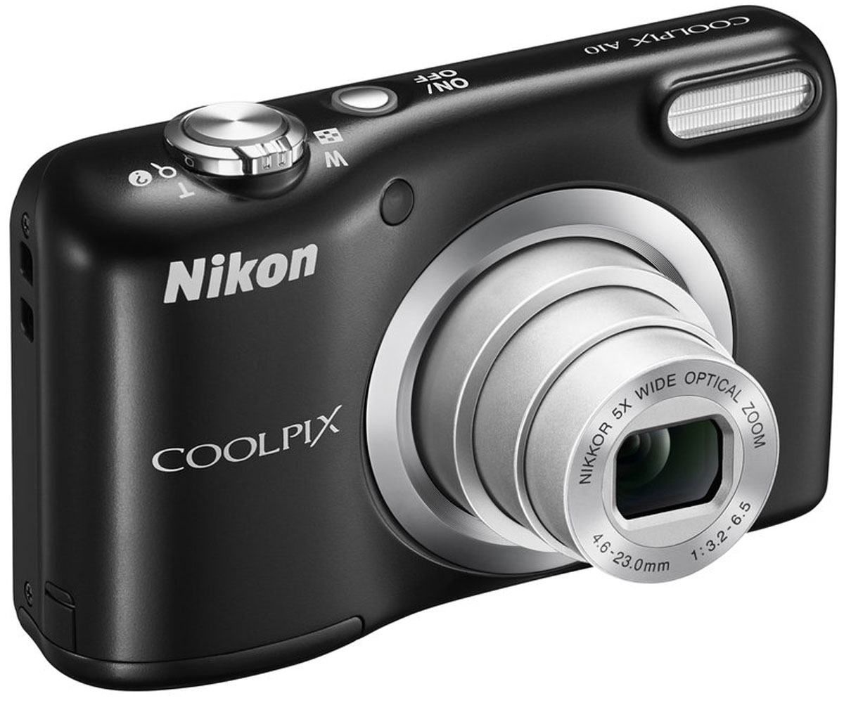 Nikon CoolPix A10, Blackцифровая фотокамера Nikon