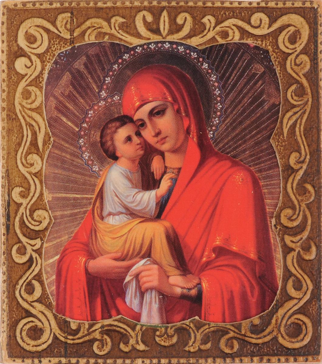 Икона Sima-land Почаевская икона Божией Матери, 6 х 6,5 см sima land