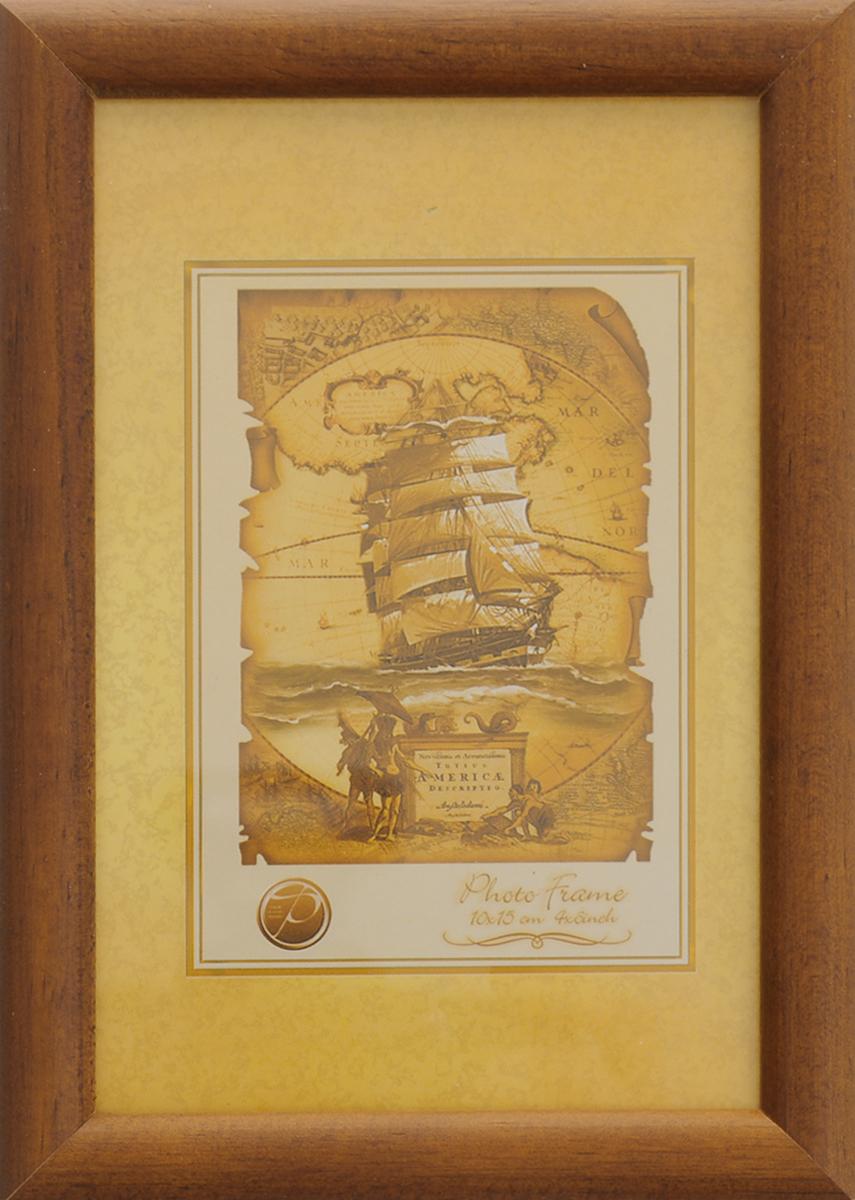 Фоторамка Pioneer Vanda, цвет: темно-коричневый, 10 х 15 см6245 001_темно-коричневыйФоторамкаPioneer Vanda выполнена из дерева и стекла, защищающего фотографию. Оборотная сторона рамки оснащена специальной ножкой, благодаря которой ее можно поставить на стол или любое другое место в доме или офисе. Также изделие оснащено специальными отверстиями для подвешивания на стену.Такая фоторамка поможет вам оригинально и стильно дополнить интерьер помещения, а также позволит сохранить память о дорогих вам людях и интересных событиях вашей жизни.